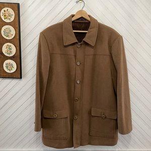 Andre Lanzino Wool Overcoat